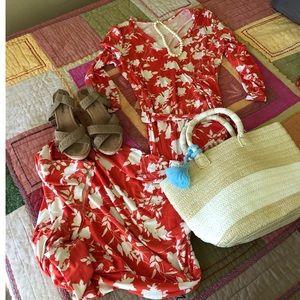 Gorgeous Poppy Maxi Dress by Leota